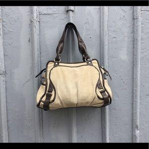 Lululemon brown & beige purse/ tote